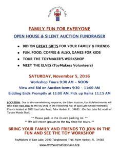 Open House Invitation Nov 5 2016